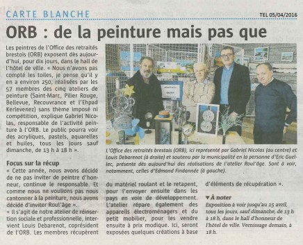 article Eric Guellec ORB - TEL 050416