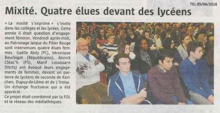 article mixité Gaëlle Abily - TEL 050416