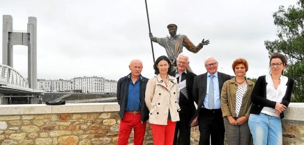 """Jacques Quillien, Gaëlle Abily, Alain Masson, Alain Boulaire, Christine Berthou-Ballo et Amélie Grosjean ont notamment été en relation avec Le Havre, ville labellisée. """"Ils n'ont pas consulté les habitants, explique Alain Boulaire. Nous avons décidé, nous, de le faire""""."""