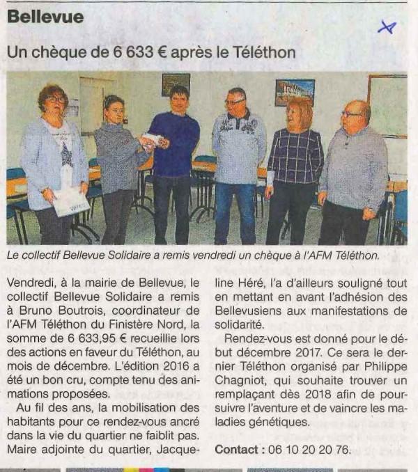 Bellevue Téléthon 120117