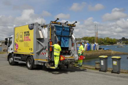 Collecte des déchets à Plougastel